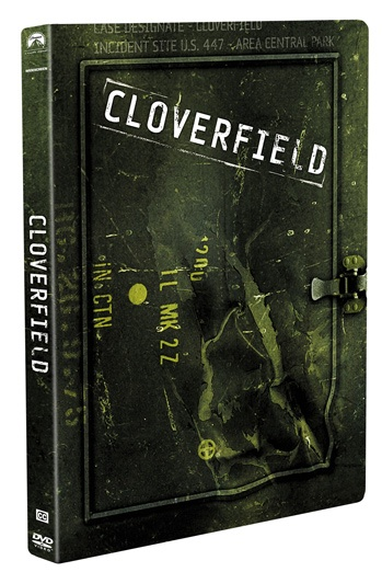 Cloverfield limited edition swank steel book collectible packaging