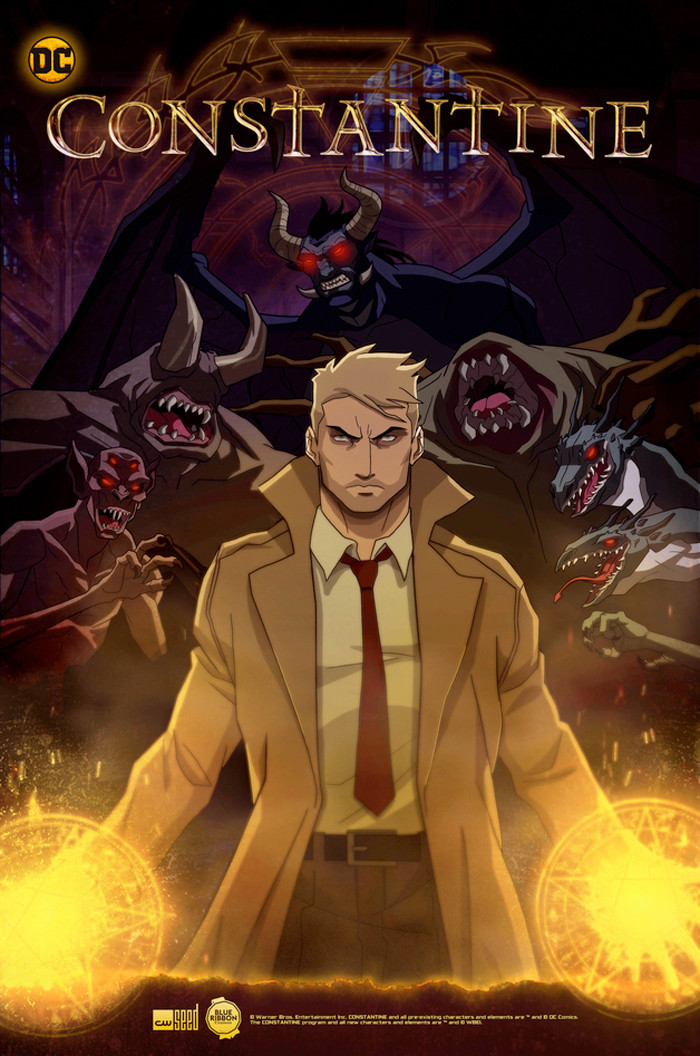 Constantine Animated Series Poster