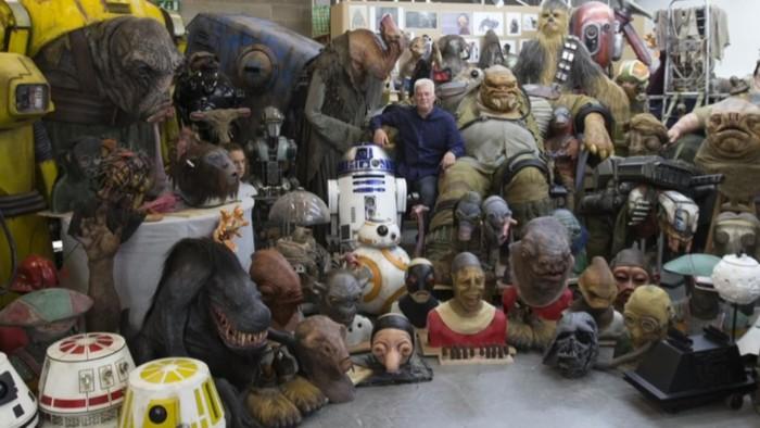 neal Scanlan creature shop Star Wars: The Force Awakens