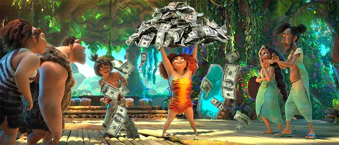 The Croods 2 2020 Thanksgiving Box Office