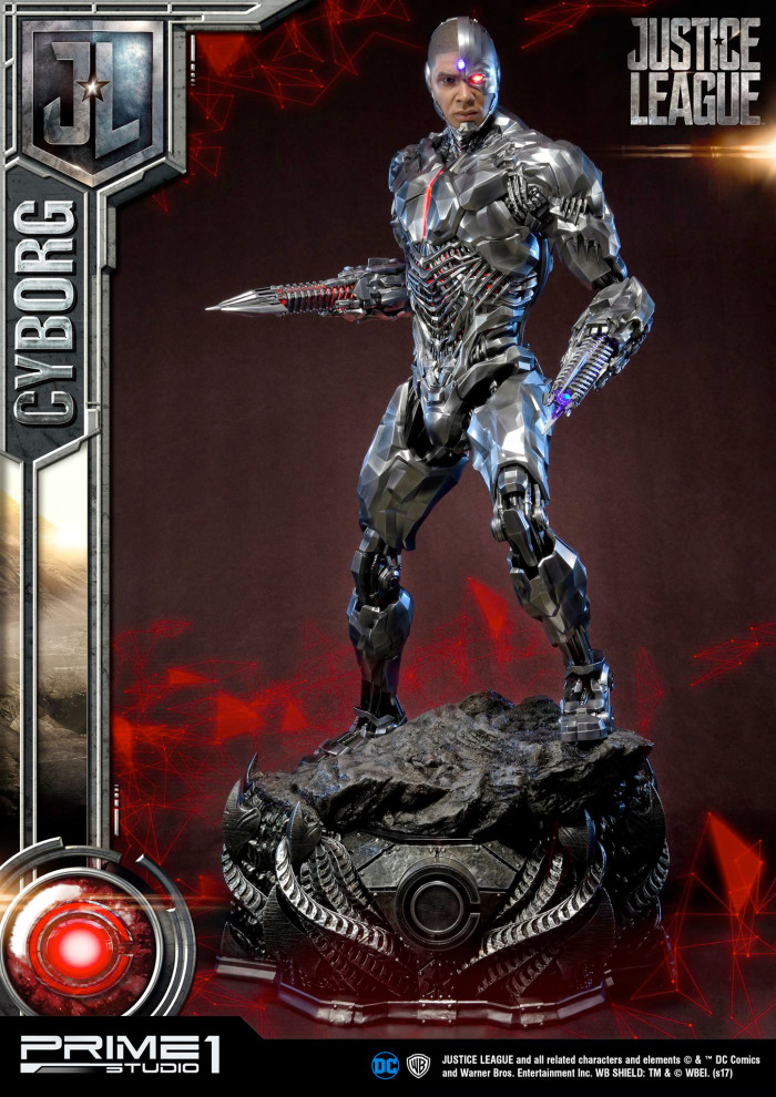 Cyborg Prime 1 Studio Statue
