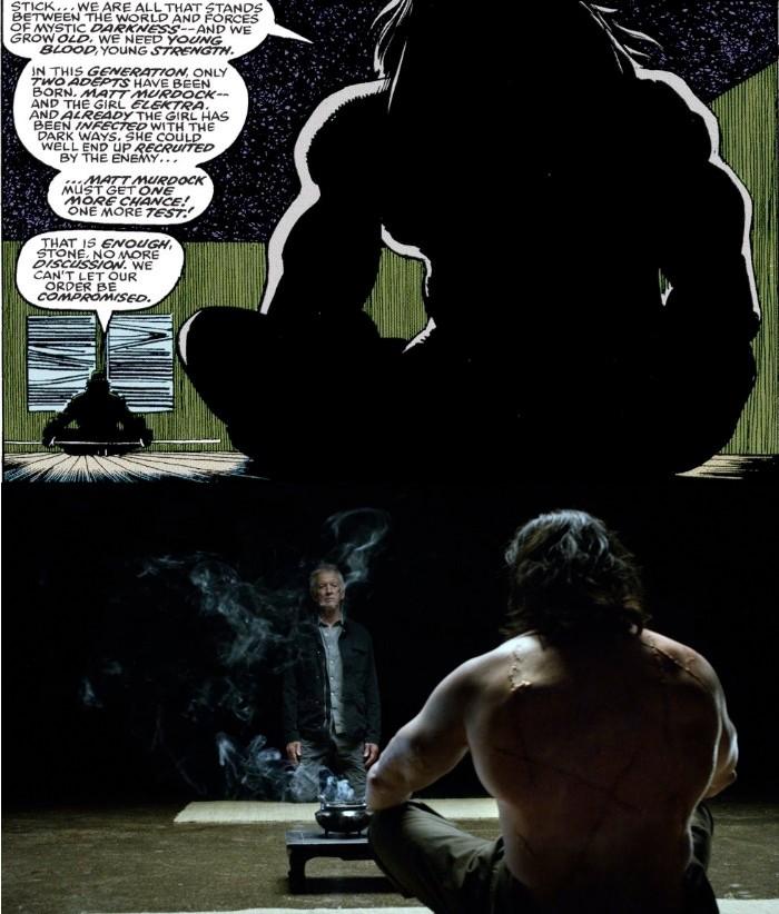 daredevil-comic-show-comparison