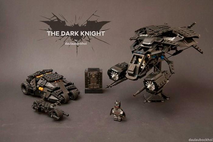 The Dark Knight LEGO Vehicles