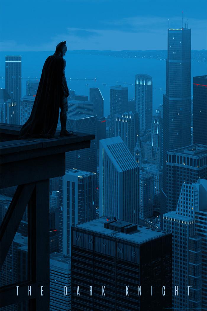 Rory Kurtz The Dark Knight Print