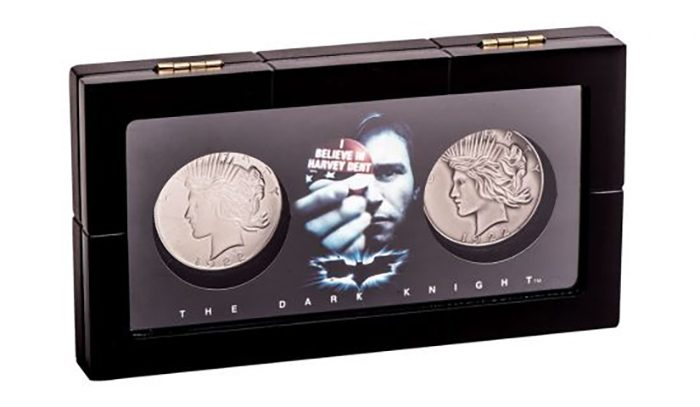 The Dark Knight Two-Face Coin Set