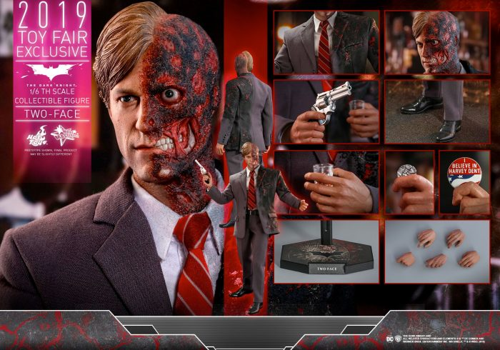 The Dark Knight - Two-Face Hot Toys Figure