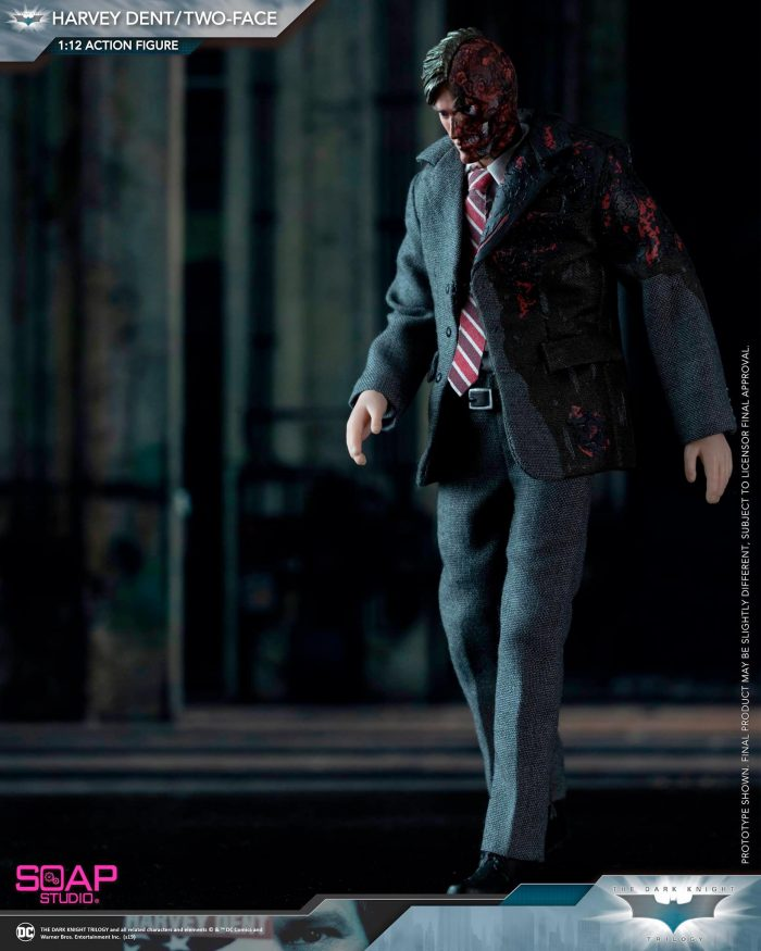 The Dark Knight - Two Face Figure