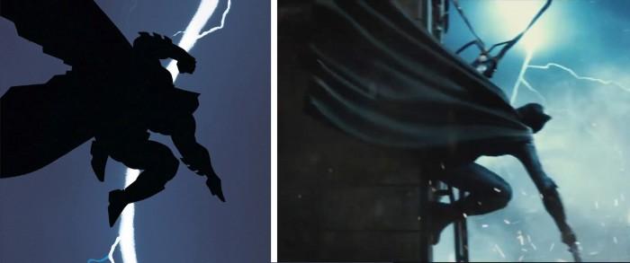 dark knight returns batman v superman comparison