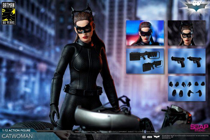 The Dark Knight Rises - Soap Studio Catwoman Figure