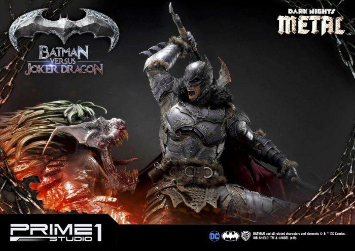 Dark Knights: Metal - Batman vs Joker Dragon