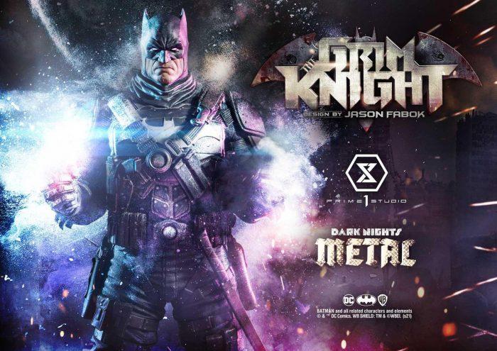 Dark Nights: Metal - Grim Knight Statue