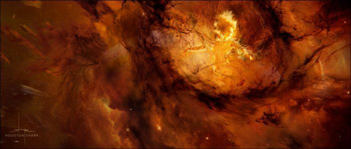Dark Phoenix Ending Concept Art