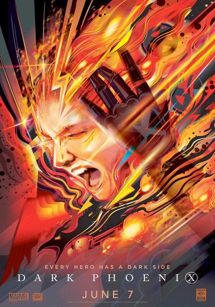 Dark Phoenix WonderCon Poster