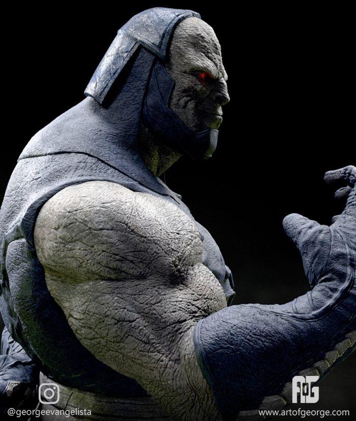 Darkseid Digital Rendering
