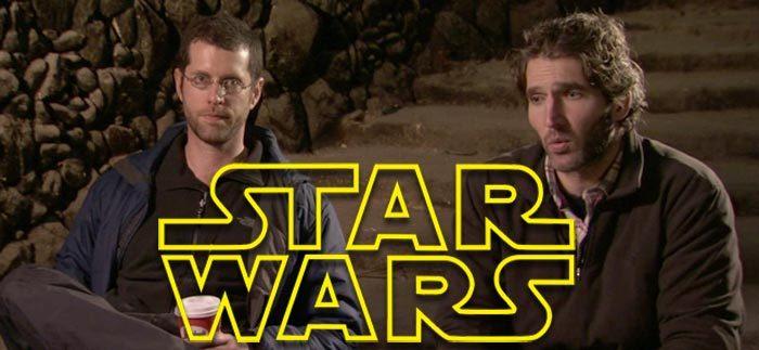 New Star Wars Trilogy - David Benioff and D.B. Weiss