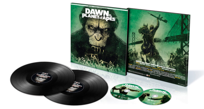 Dawn of the Planet of the Apes Vinyl Combo Pack