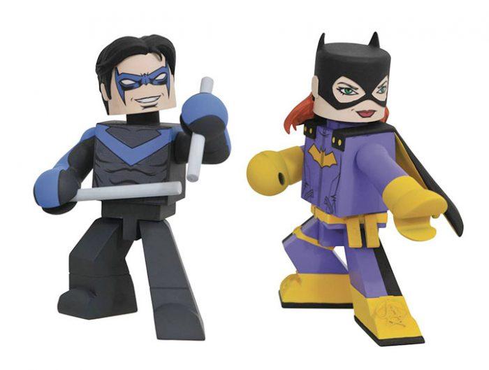 DC Vinimates - Nightwing and Batgirl