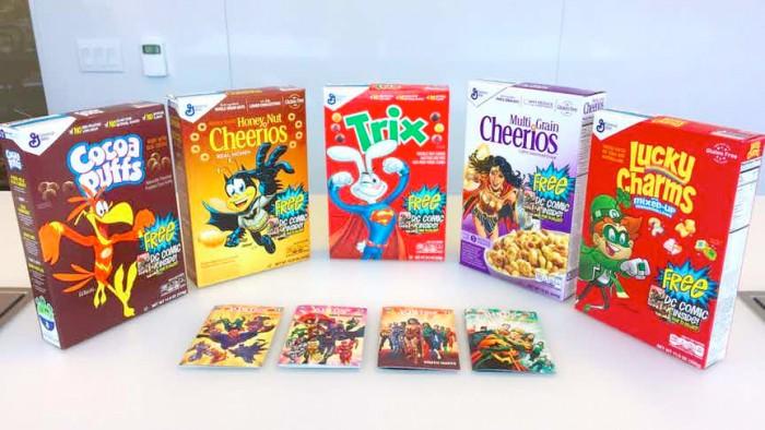 DC Comics General Mills Cereals