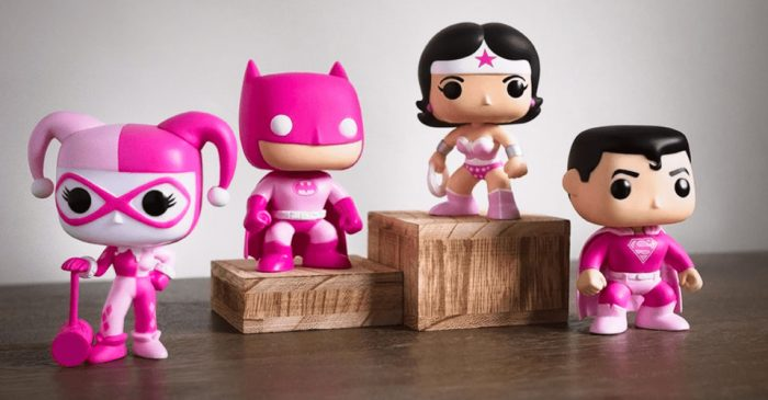 DC Comics Funko POPs for Breast Cancer Research