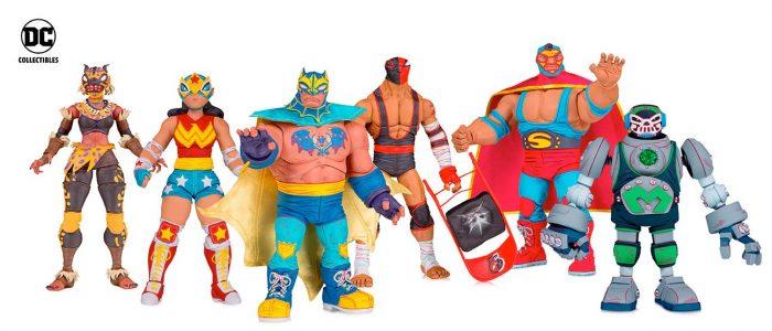 DC Comics - Luchador Figures