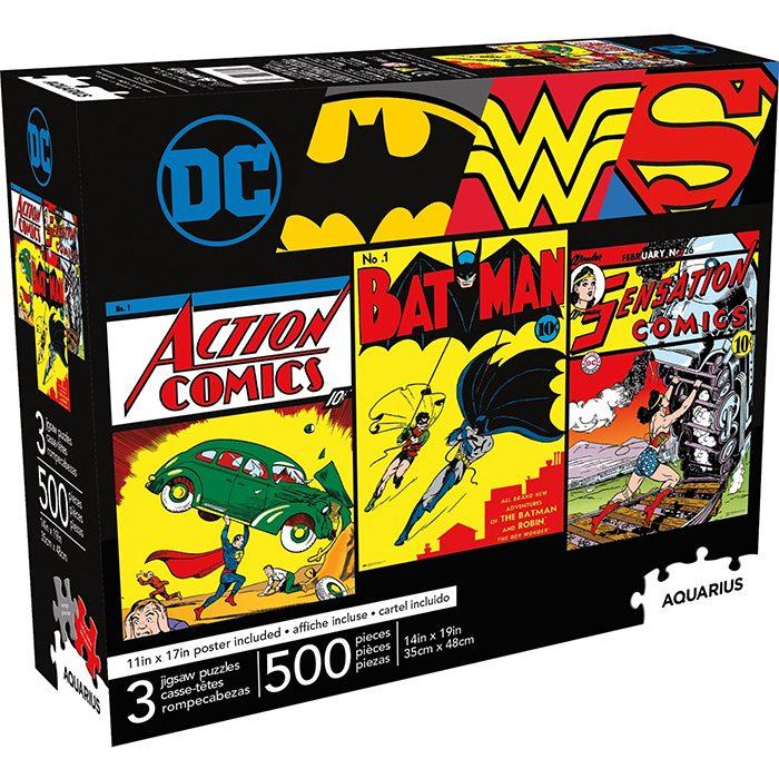 Vintage DC Comics Puzzles
