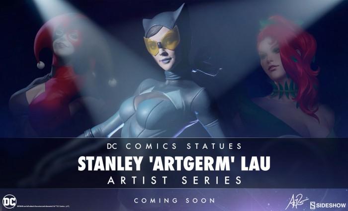 DC Comics Stanley Lau Statues