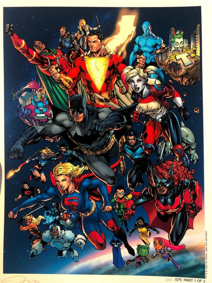 DC FanDome - Jim Lee Art