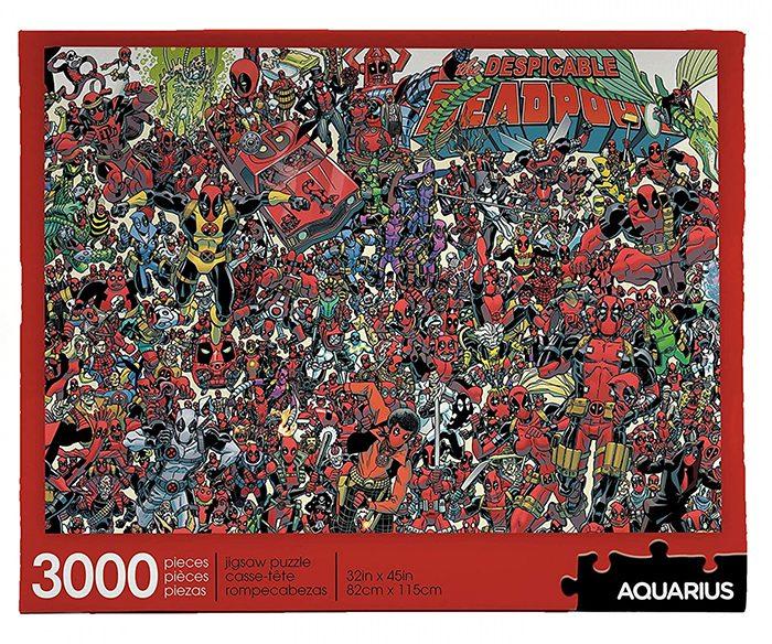 Deadpool 3,000 Piece Puzzle