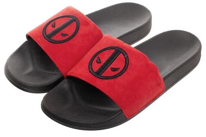 Deadpool Chenille Slippers