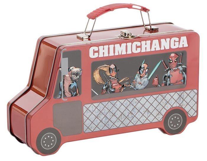 Deadpool Chimichanga Truck Lunch Box