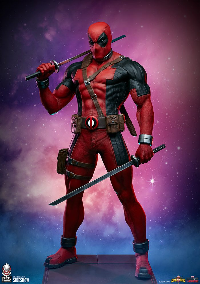 Deadpool - Contest of Champions Statue