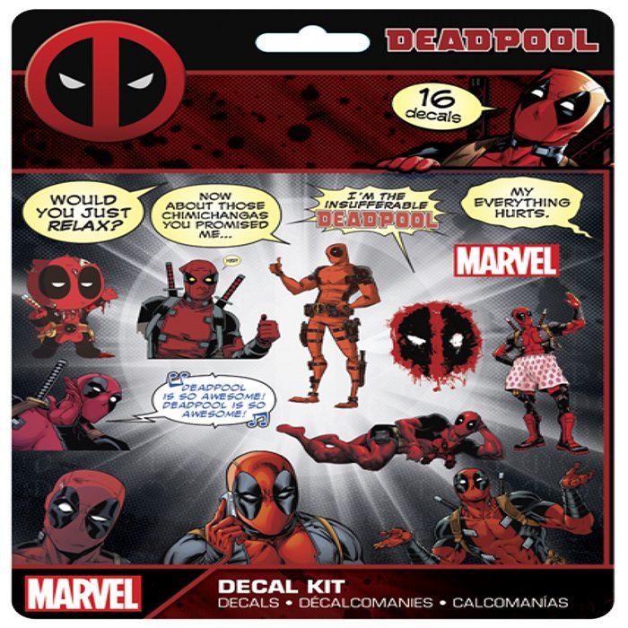Deadpool Decal Set