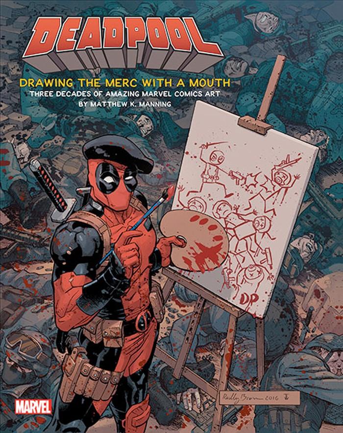 Deadpool Art Book
