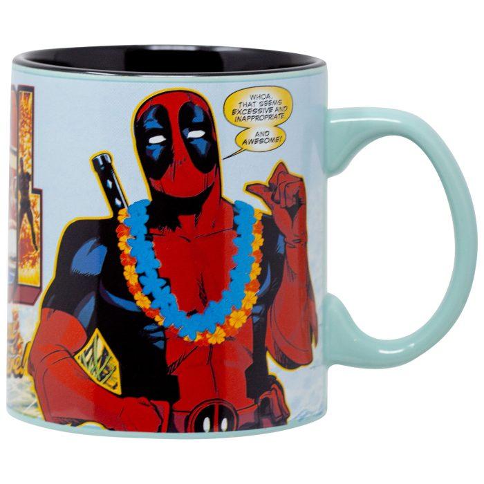 Deadpool Greetings Mug