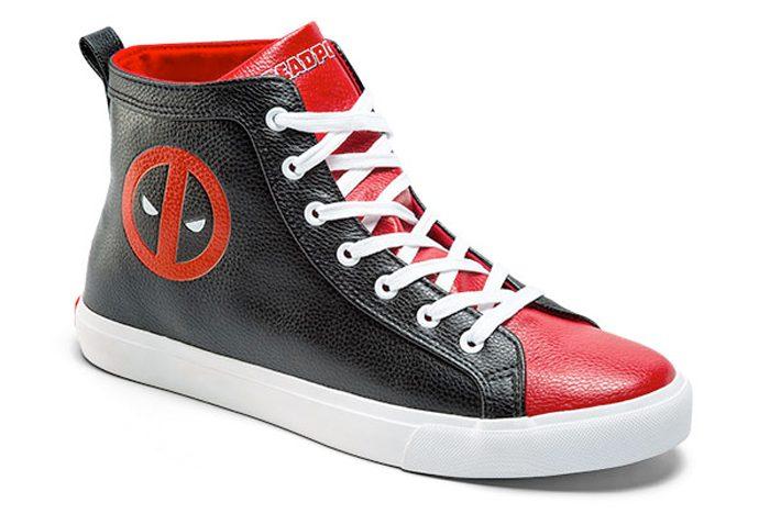 Deadpool High Top Sneakers