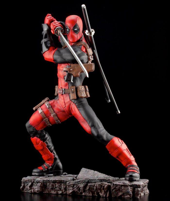Deadpool Marvel Fine Art Statue