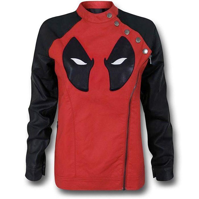 Deadpool Ladies Moto Jacket