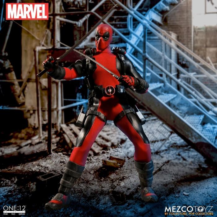 Mezco Toyz Deadpool Figure