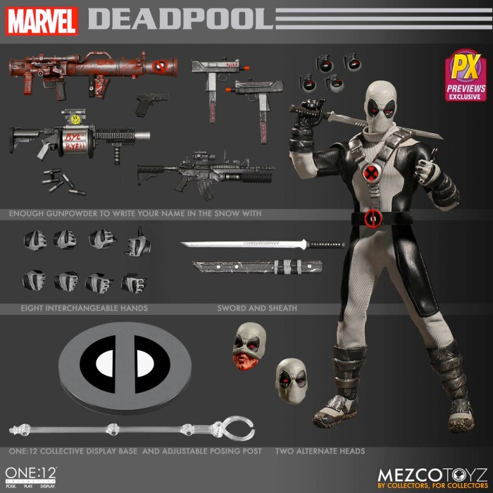 Deadpool Mezco Toyz One:12 Collective Figure