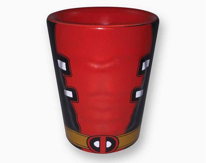 Deadpool Molded Shot Glass