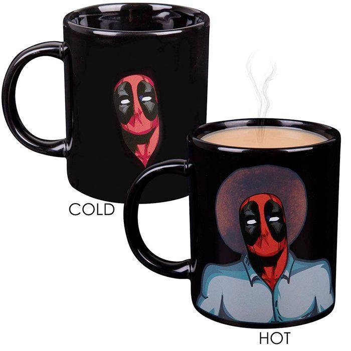 Deadpool Bob Ross Mug