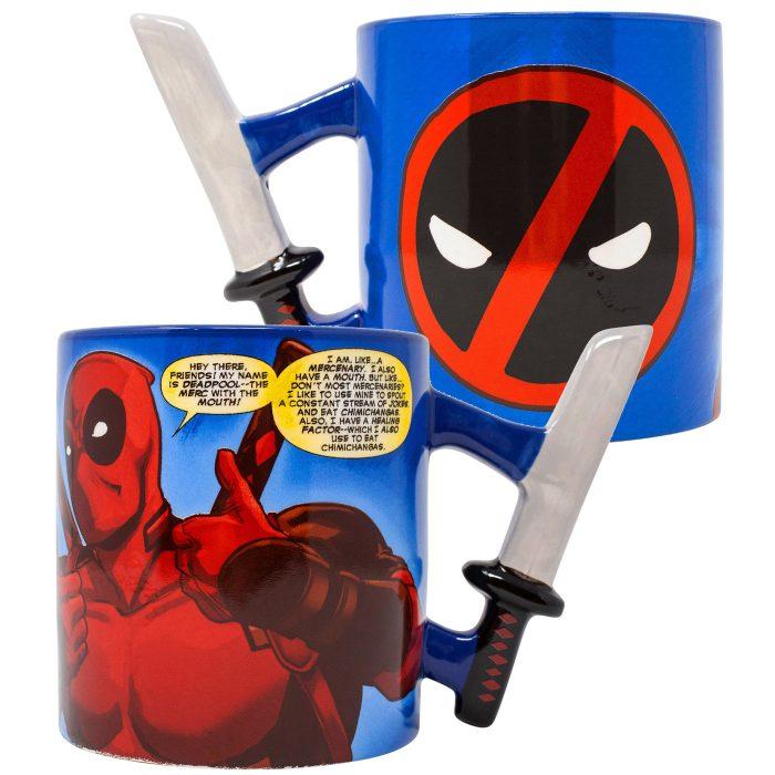 Deadpool Katana Handle Mug