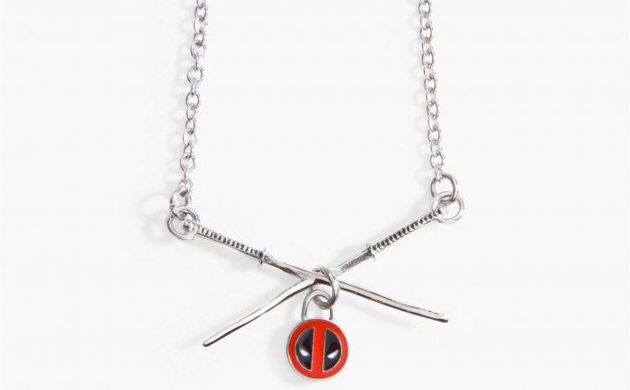 Deadpool Swords Necklace