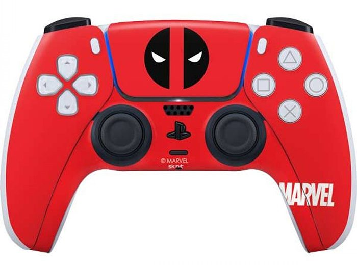 Deadpool PS5 Controller Skin