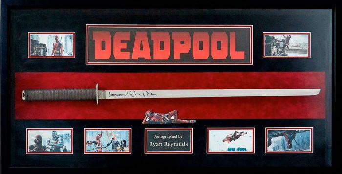 Deadpool Signed Sword