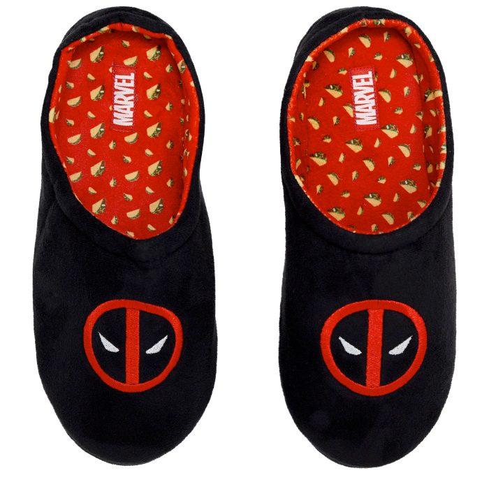 Deadpool Tacos Slippers