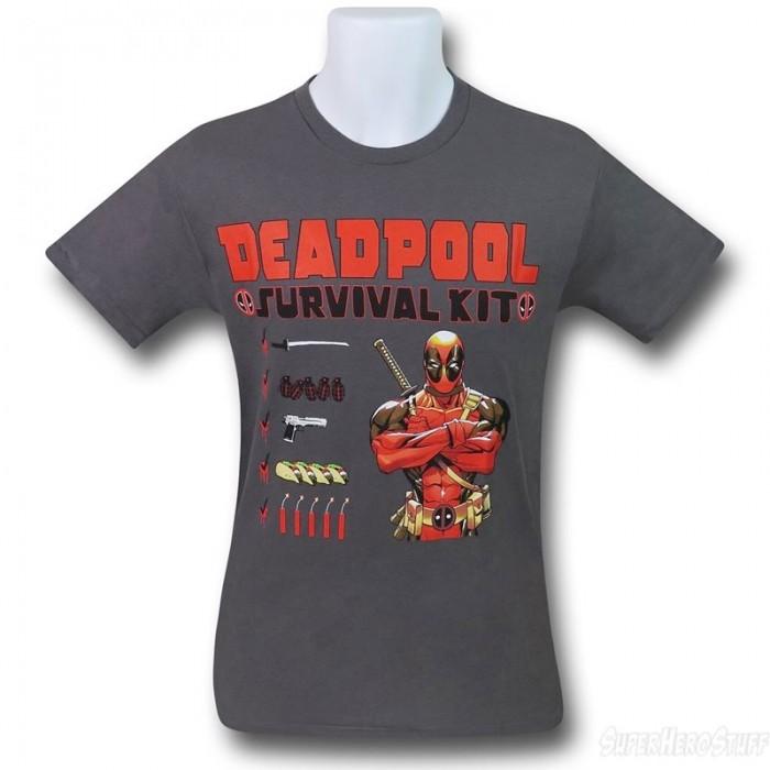 Deadpool Survival Kit T-shirt