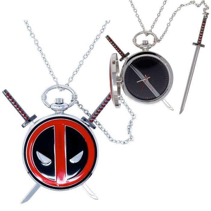 Deadpool Timepiece Locket