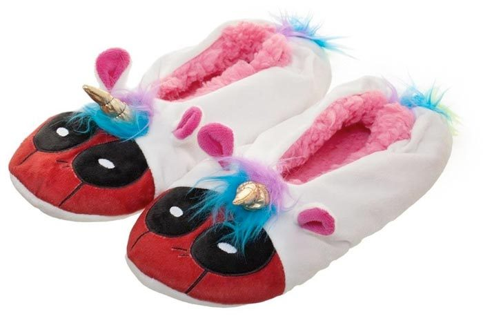 Deadpool Unicorn Slippers