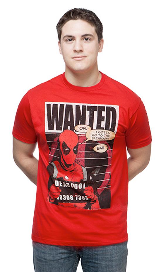 deadpool-wanted-tshirt